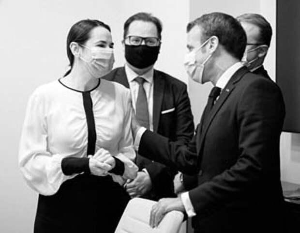 Во встрече с Тихановской Макрон увидел возможность усилить свое влияние в ЕС