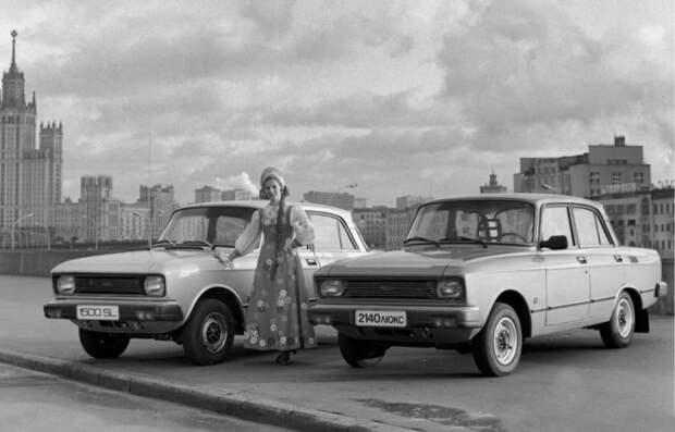 Из-за чего началось противостояние АЗЛК и ИЖ авто, автомобили, азлк, олдтаймер, ретро авто, советские автомобили