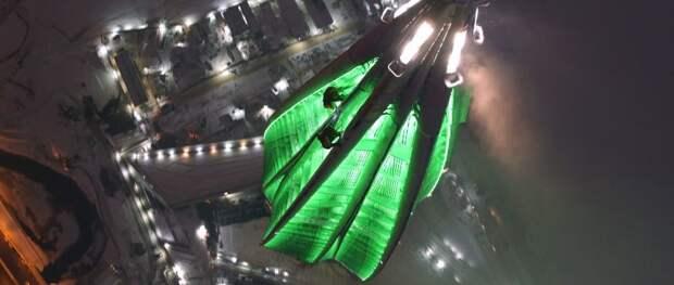 В Петербурге 17 ноября тестируют подсветку Лахта Центра
