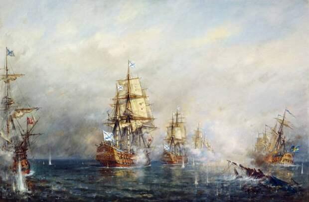 Адмирал Василий Яковлевич Чичагов. Главное сражение флотоводца