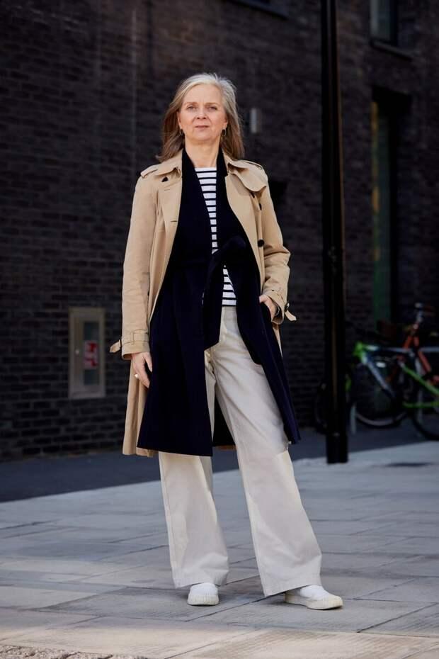 Городские образы для женщин 60+. Будьте всегда на стиле