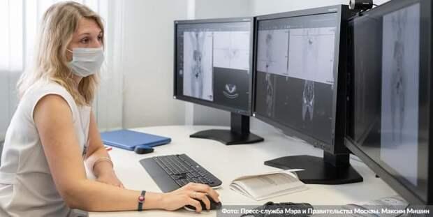 Московский сервис поможет врачам по всей стране обработать лучевые снимки с помощью ИИ. Фото: М. Мишин mos.ru