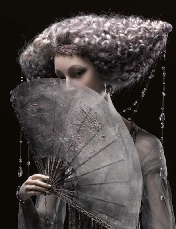 Фарфоровые куклы ручной работы от Александры Кукиновой