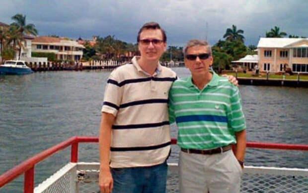 Ильичев с сыном Михаилом