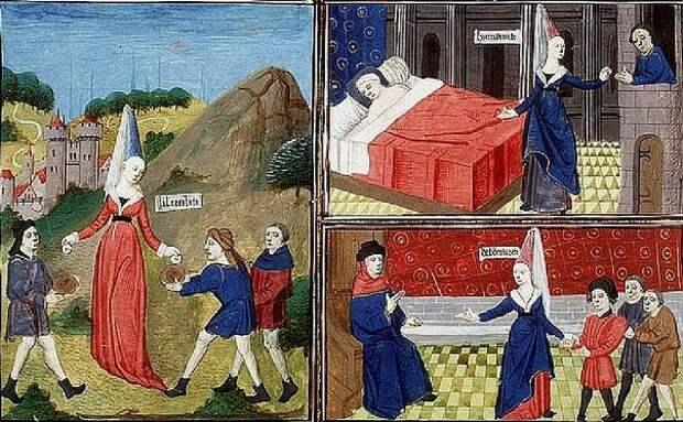 Бродяги и нищие в Средние века 17