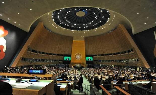 В ООН ПРИНЯЛИ РОССИЙСКИЙ ПРОЕКТ РЕЗОЛЮЦИИ ПРОТИВ ГЕРОИЗАЦИИ НАЦИЗМА