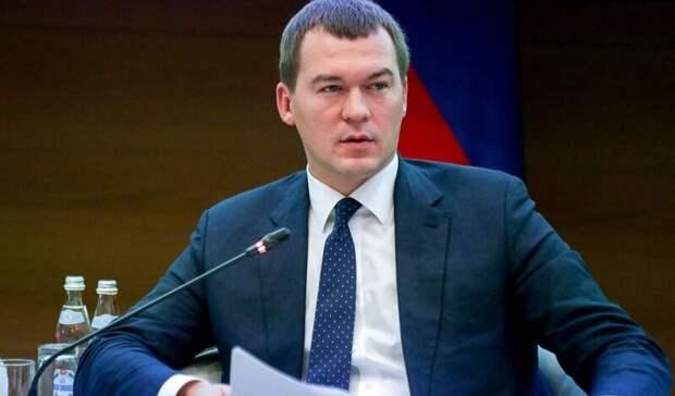 Михаил Дегтярев рассказал журналистам освоей жизни после переезда вХабаровск