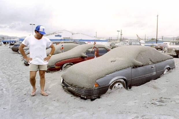Извержение вулкана Пинатубо в 1991 году