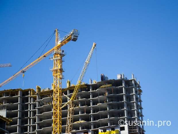 Объемы ввода жилья в Удмуртии увеличились на 37%