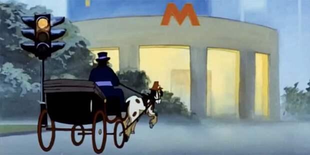 Мосгорнаследие предложило столичным детям прогуляться по местам, изображенным в известных мультфильмах
