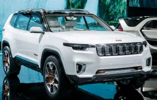 Внедорожник Jeep Wagoneer из США расстроил до мировой премьеры