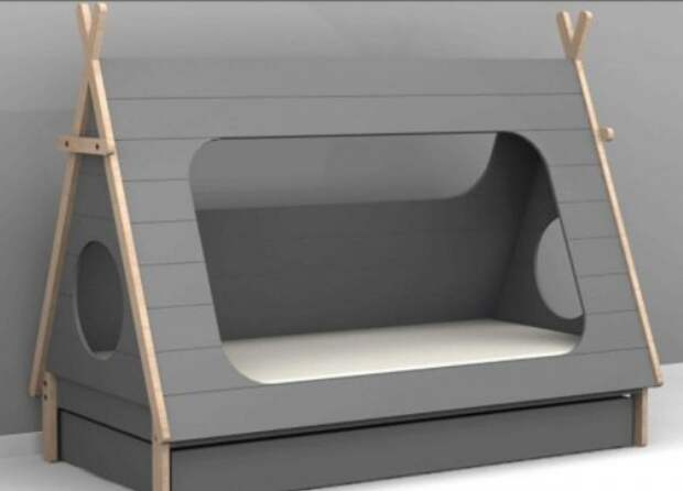Складная кровать домик (подборка)