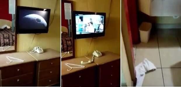 В отеле на юге Техаса в комнате номер 38 повадился хулиганить полтергейст