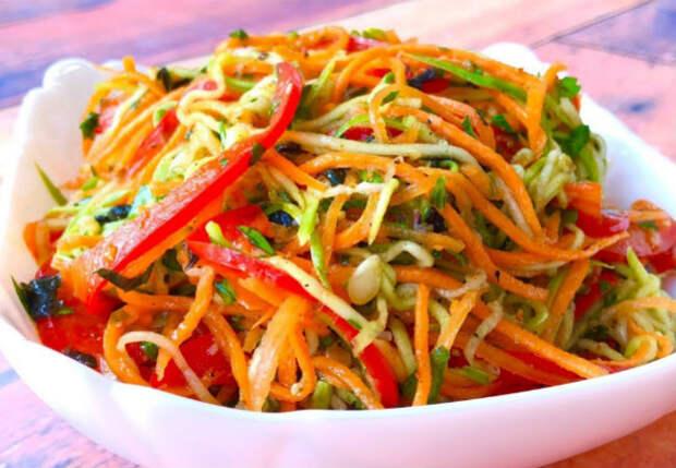 Кабачки по-корейски: так их  еще никто не ел