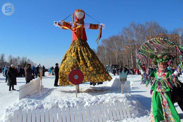 Масленица в Ижевске: проводить зиму можно на 4 площадках