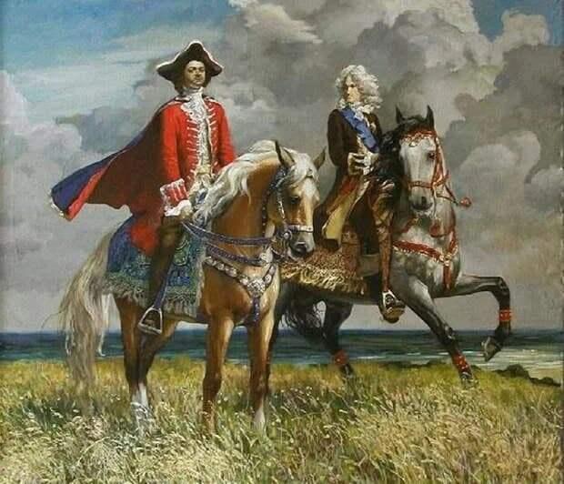 Забытый героизм Александра Меншикова и Петра Великого в Полтавской битве