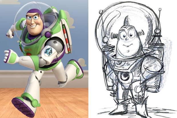 Как могли выглядеть культовые персонажи кино и мультфильмов? 8 фото