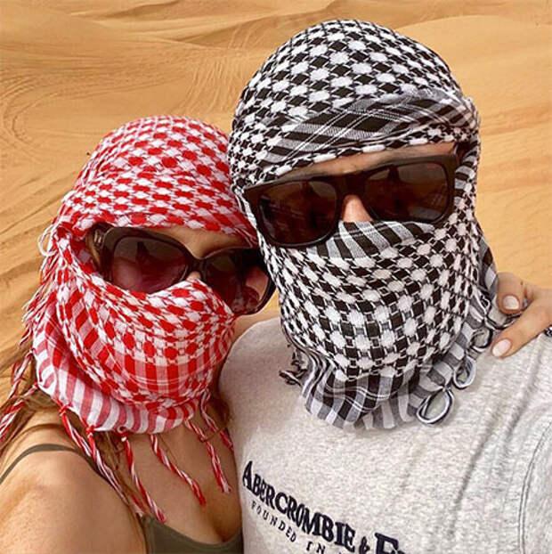 Узнай, если сможешь: Лиза Арзамасова и Илья Авербух отдыхают в Дубае