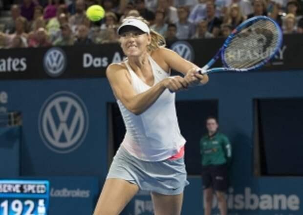 РБК: Шарапова выиграла турнир в австралийском Брисбене