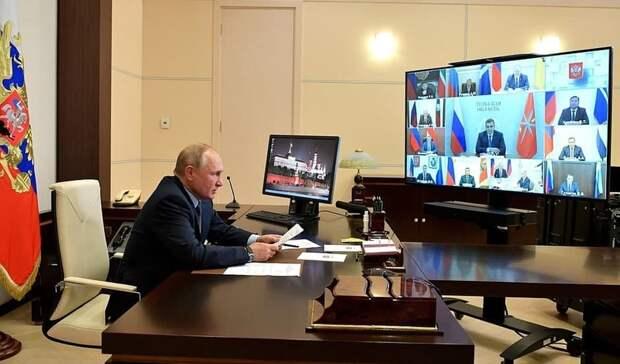 Владимир Путин поздравил Вячеслава Гладкова сизбранием надолжность губернатора