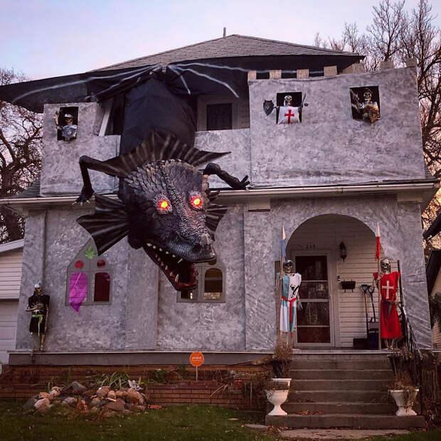 Итоги Хэллоуина 2019: самые креативные украшения к празднику