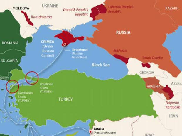 США бросают Украину, Грузию и Молдову против России в Черном море