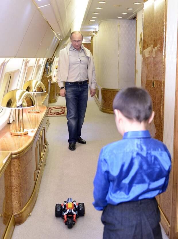 Первый борт страны: на чем летает Путин