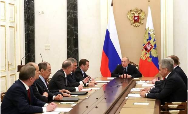 Состоялось оперативное заседание Совета Безопасности России