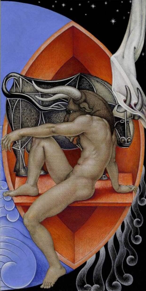 Двойной смысл картин Майкла Бергта: отвосточной классики кзападному сюрреализму