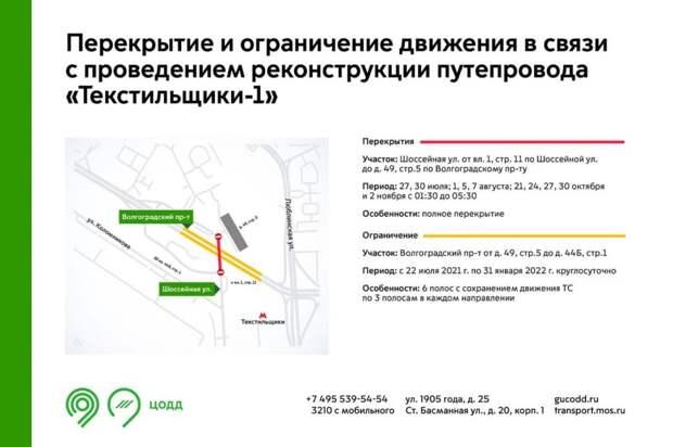 Из-за ремонта путепровода временно перекроют участок на Шоссейной