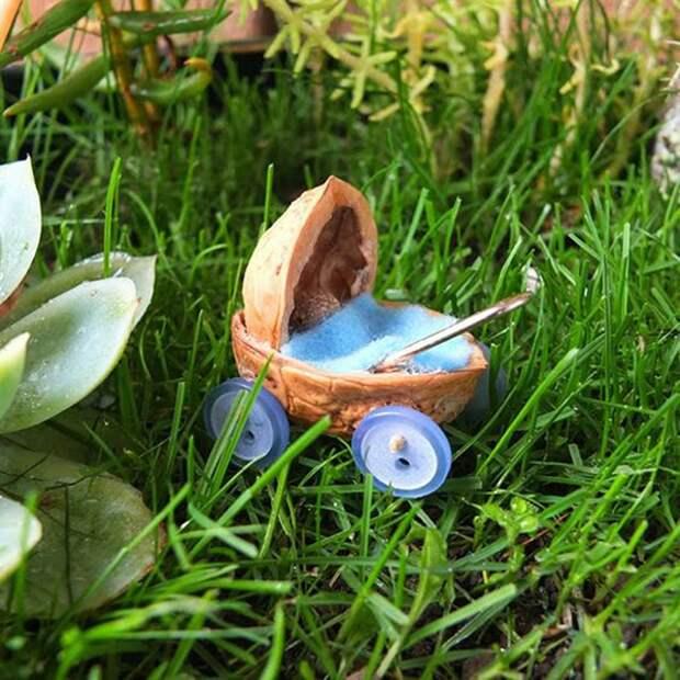 Щёлкаем орешки: скорлупа грецкого ореха как материал для вашего творчества, фото № 45