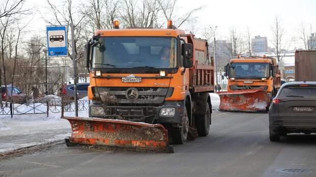 Петербургские дороги готовы к зиме на 83%