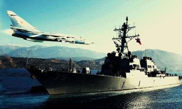 """Вице-адмирал Святашов призвал покончить с """"бесцеремонным"""" американским эсминцем в Черном море"""