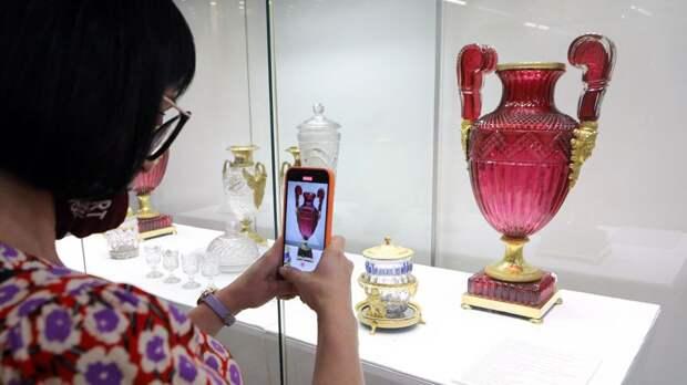 Осторожно, стекло! Произведения Императорского стеклянного завода в ГИМе