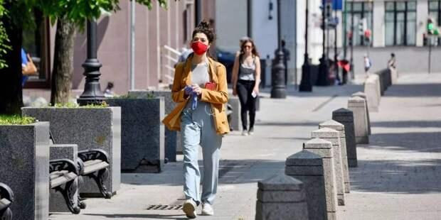 Москвичам напомнили о важности ношения масок в общественных местах. Фото: mos.ru