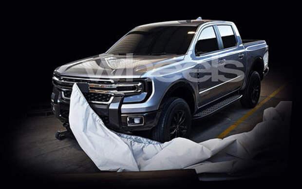 Может ли это быть новым пикапом Ford?