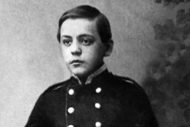 Савва Мамонтов в детстве. Фото с сайта udivim.net