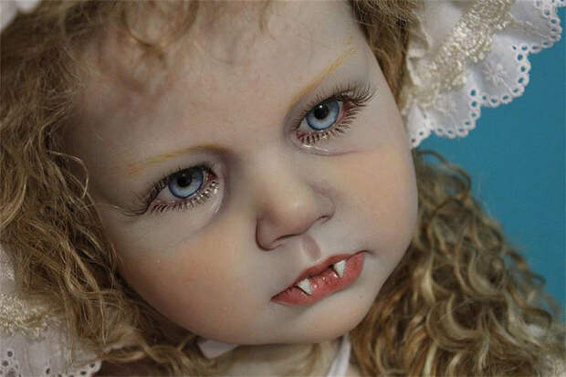 Кровососы и спиногрызы: недетские куклы от Бин Шанин