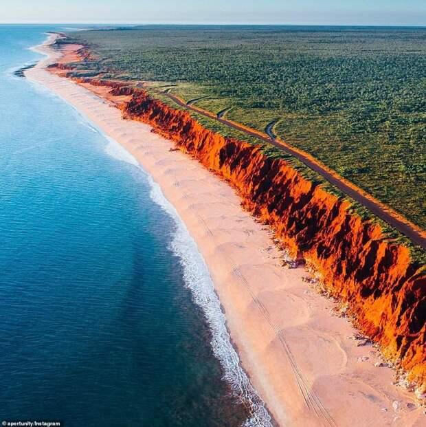 Особо впечатлительным— смотреть обязательно! Завораживающая Австралия вобъективе дрона