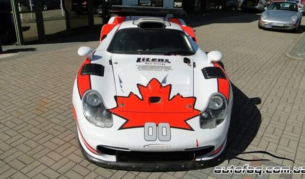 Продаются два гоночных Porsche 911 GT1