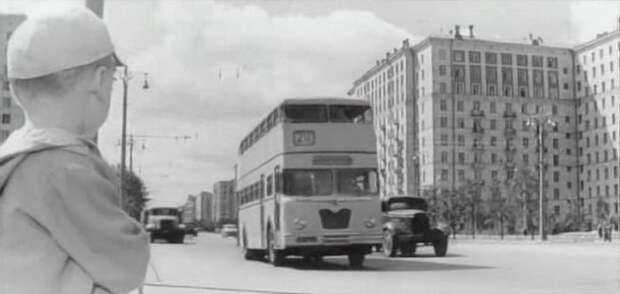 Москва, 1962 год, 211 маршрут. СССР, авто, автобус, кино, москва, общественный транспорт, троллейбус