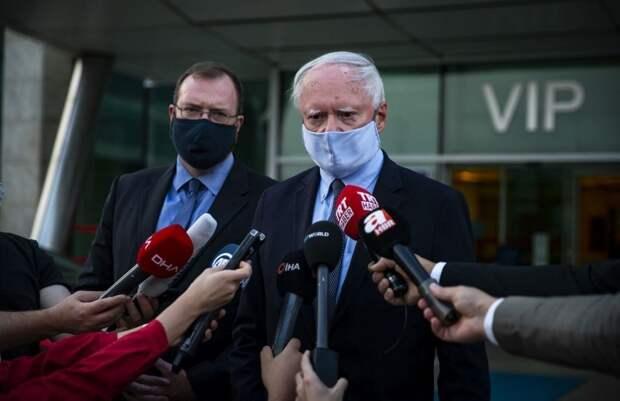 Спецпредставитель США прибыл в Турцию