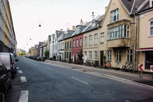 Картофельный ряд Копенгагена