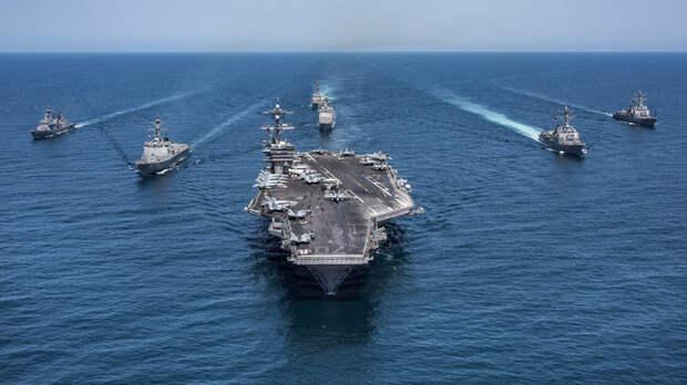 Иранский дрон отключил системы ПВО и «атаковал» корабли ВМС США