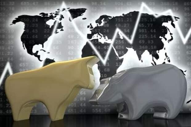 Рынок открылся небольшим снижением, рубль укрепляется