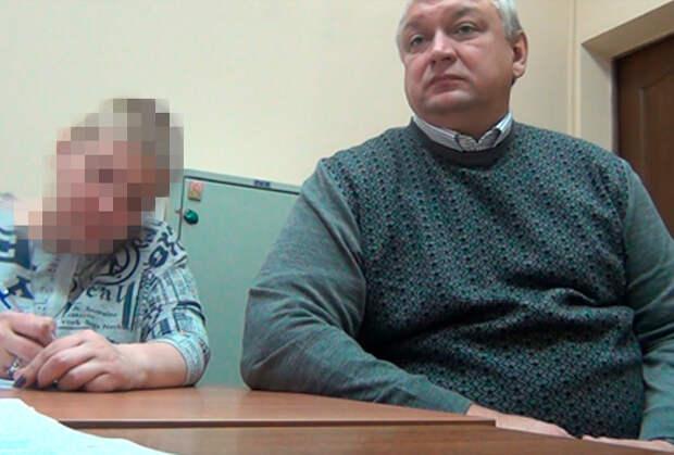 Дмитрий Матвеев на допросе