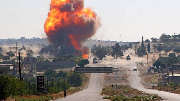 Гуманитарный конвой из России в Сирии подорвали целенаправленно .