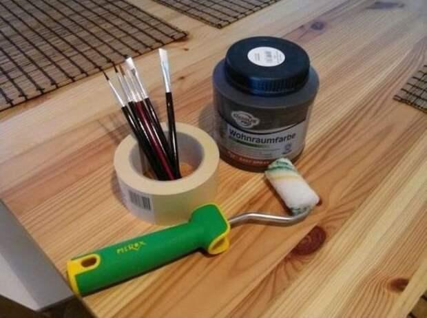 Креативный способ нарисовать картину на стене картина, своими руками, сделай сам