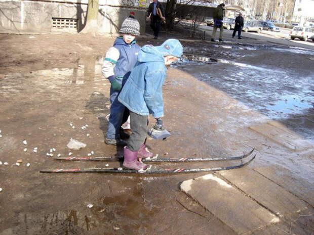 То ли лыжи не едут, то ли я...| Фото: chemodur - LiveJournal.