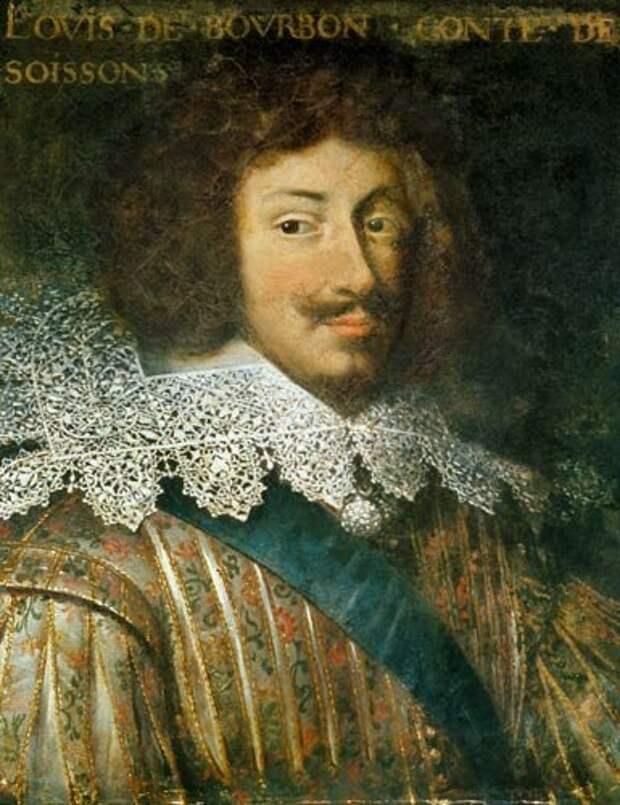 Людовик де Бурбон, граф де Суассон. Неизвестный автор. Около 1640 г. Из коллекции Château de Beauregard.